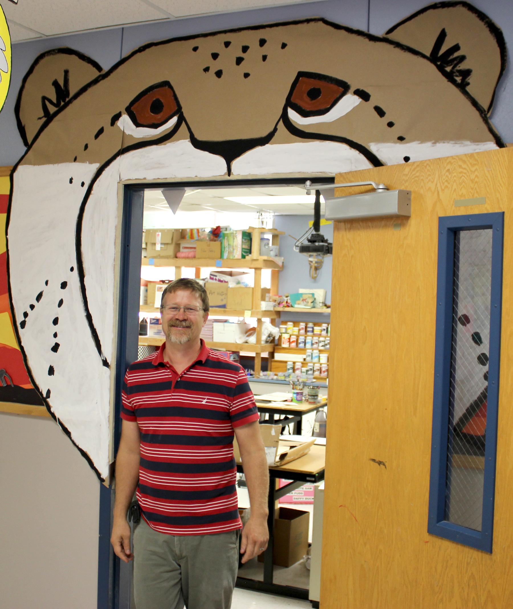 Mr Gottfried doorway