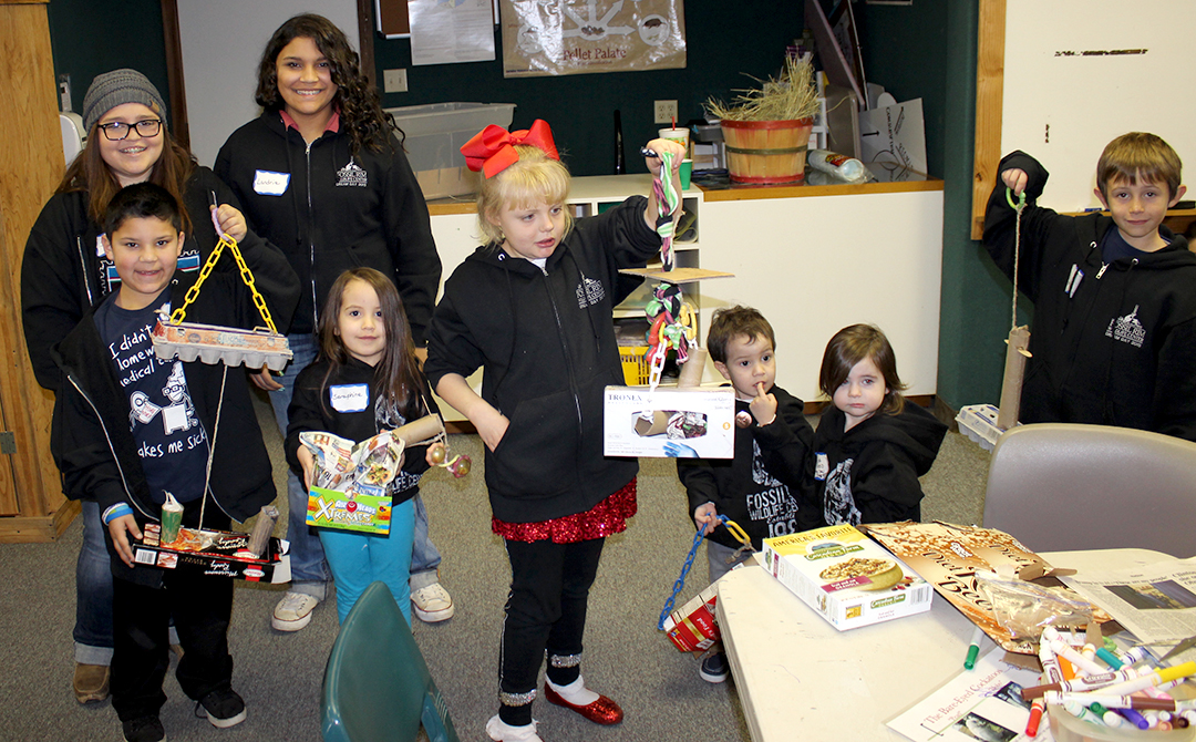 group with enrichment items
