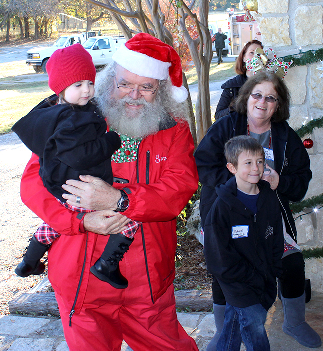 Santa and Gracelyn
