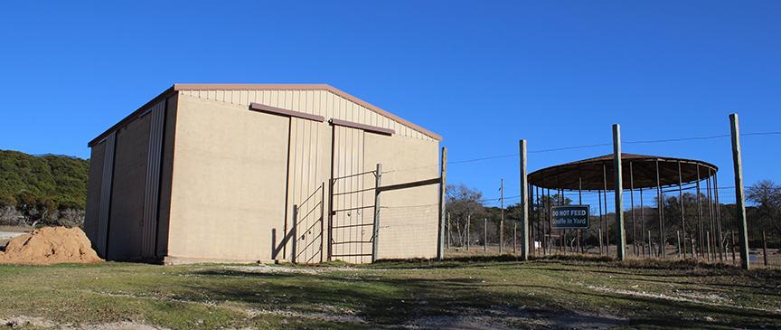 backside of g barn