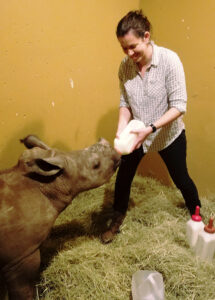 nicole-feeds-rhino
